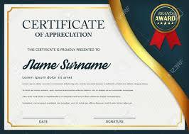 Certificate Of Honor Template Creative Certificate Of Appreciation Award Template Certificate