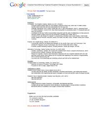 Traditional Resume Examples Examples Of Resumes