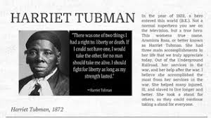harriet tubman s greatest achieveme  toto we re not in kansas anymore