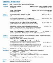 Slp Resume Examples Mesmerizing Slp Resume Fabulous Slp Resume Examples Sample Resume Template