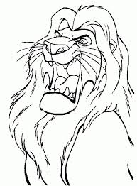 Small Picture 7 best Le Roi Lion images on Pinterest Drawings Disney coloring
