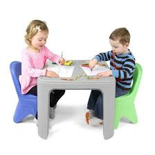 table chair for toddler. Simplay3 Play Around Table And Chair Set For Safe All-purpose Child Activities From Toddler