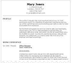 An Example Of A Good Resume Inspiration Good Resume Examples Migrante