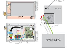 tub jets blue yellow green brown 220v or 240 how do this is the wiring diaagram for one of the units it only has what would be expected a 2 wire connection to l1 and l2