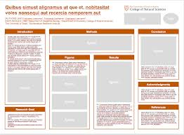 College Templates Research Posters