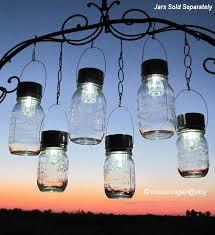 hanging solar patio lights. Hanging Solar Lights Outdoor Event Lighting Mason Jar Wedding Patio G