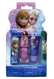 amazon disney frozen s kiss it paint it 3 piece makeup set toys games