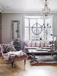 Living Room Decoration with Parisian Glamour Mixed with Rustic Shabby Chic  Charm