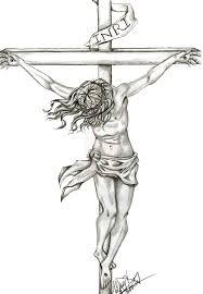 Amazing Jesus On Cross Tattoo Pics