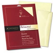 Resume Paper Envelopes Shop Southworth