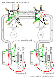 two light two switch wiring diagram two image wiring diagram for 2 way light switch wiring image on two light two switch