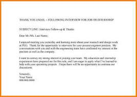 5 Email Thank You Interview Invoice Example