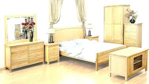 Oak Wood Bedroom Set Bedroom Furniture Oak Photo 1 White Wood And ...