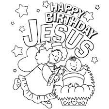 Small Picture Christmas coloring pages secular and a GREAT Happy Birthday Jesus