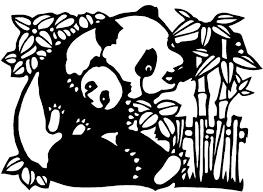Kinderpleinen Panda Beren Kleurplaten
