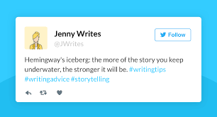 great writing tips for authors on twitter bull reedsy