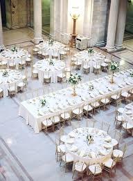 wedding reception table decor elegant round and rectangle wedding reception table layout ideas
