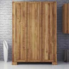 Schlafzimmer Kleiderschrank Aus Wildeiche Massivholz 190 Cm Hoch