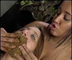 German lesbian scat free xxx video