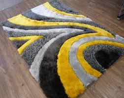 rug factory plus handtufted grayyellow area rug  reviews  wayfair