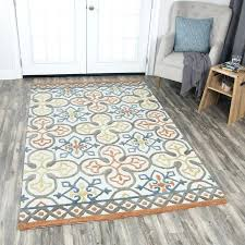 hand tufted natural wool area rug rugs cleaning three posts