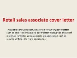 Customer Sales Associate Cover Letter Sarahepps Com