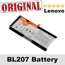 original for lenovo bl207 battery replacement k900 2500mah li ion backup bl 207