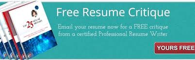 Free Resume Critique Inspiration Free Professional Resume Critique Stepabout Free Resume
