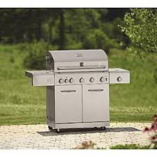 Interesting Kitchenaid 5 Burner Gas Grill Kenmore Stainless Steel With Ceramic Decor