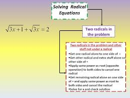 16 solving radical equations two radicals in the problem two radicals