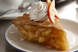 apple pie slice with whipped cream. Simple With Comfort Food Slice Apple Pie Whipped Cream Dollop Diner Pohuski  Inside With I