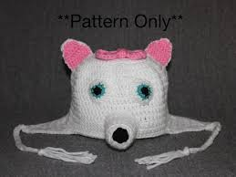 Crochet Dog Hat Pattern Awesome American Eskimo Dog Puppy Hat Pattern Dog Hat Crochet Dog