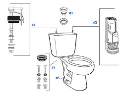 parts diagram for mansfield two piece dual flush summit toilets