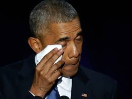 president obama daughter a weep at farewell speech com a tearful farewell president obama daughter a and even joe biden weep during farewell speech