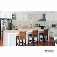 Splashback White Kitchen White Kitchen Glass Splashback Caesarstone Top Maifcomau