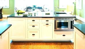 microwave in island. Microwave In Island Kitchen With Drawer Transitional Cart N