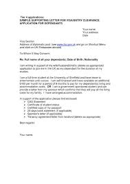 Sample Of Audit Report And Cover Letter Sample For Uk Visa