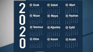 2020 Resmi tatil günleri belli oldu! Plan yapanlar için 9 günlük bayram  tatili... - YAŞAM Haberleri