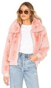 faux fur crop er