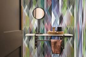 custom circus wallpaper geometric