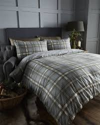 stag duvet cover set king size sweetgalas linens limited 100 brushed cotton flannelette duvet cover natural super king