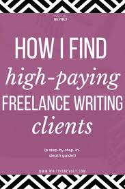 how to get lance writing clients foolproof tactics i used wondering how to become a lance writer and make money writing online it s all about
