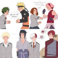 BNHA PICS - Crossovers/AU pt - 2 | Anime crossover, Naruto comic, Naruto  shippuden anime