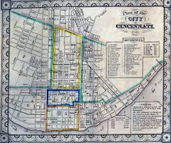 cincinnati historical maps university of cincinnati