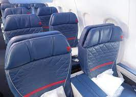 delta reducing seat recline on a320s