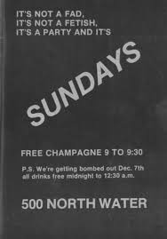 Sundays Only Calendar Park Avenue Images Bars And Clubs In The History Of Gay