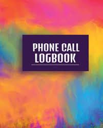 Phone Message Log Book Phone Call Logbook Voice Message Log Book Paperback