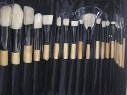 coastal scents brushes. coastal scents elite brush set bamboo collection brushes a