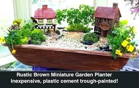 indoor fairy garden. Fairy Garden Planters Miniature Village Makers Blog By Indoor
