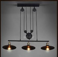 adjustable lighting fixtures. Nordic Industrial Pendant Lamp Lights RH Loft Pulley Adjustable Retractable Coffee Hanglamp E27 Light Fixtures Modern Lighting I